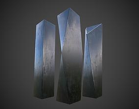 Mysterious Monoliths 3D asset