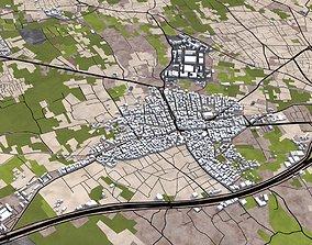 3D asset Damascus City Syria