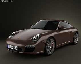 3D Porsche 911 Carrera S Coupe 2011