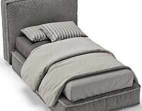 SINGLE BED 14 3D model