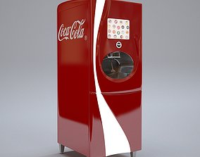 Coca-Cola Freestyle Soda dispensing machine 3D model