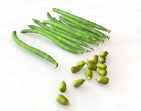 3D model French Green Beans