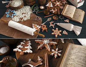 3D Christmas Cooking Gingerbread
