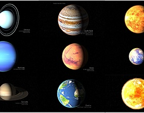 3D solar system corona