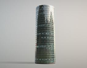 3D model Building Frankfurt Westhafen Tower