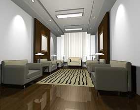3D foyer Luxury architectural Hall Lobby