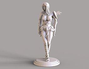 Warrior Girl 2 3D printable model