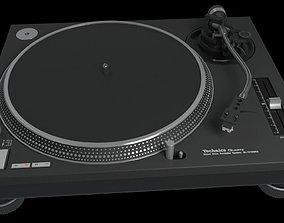 3D model Technics SL1200 Mk2 Turntable deck