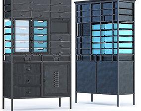Dresser Art Factory Black 3D model
