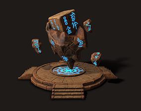 3D model Modular MagicRock - Game Ready