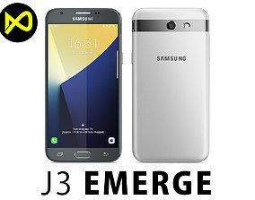 3D Samsung Galaxy J3 Emerge