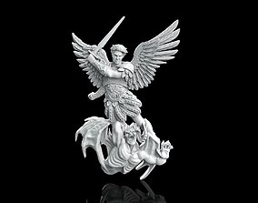3D printable model Michael Saint