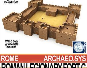 3D Roman Legionary Fort C