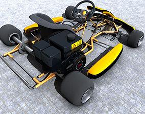 Shifter Kart 3D model MAX OBJ MTL 3DS FBX C4D LWO LW LWS