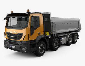 3D Iveco Stralis X-WAY Tipper Truck 2017