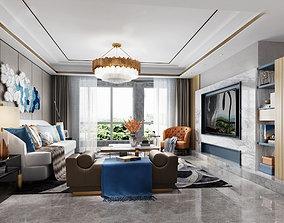 3D model diningtable living room