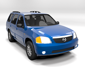 3D asset MAZDA TRIBUTE 2003 LOWPOLY
