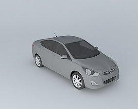 2012 Hyundai Accent - Solaris 3D model accent