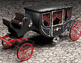 Luxury Horse Carriage 3D