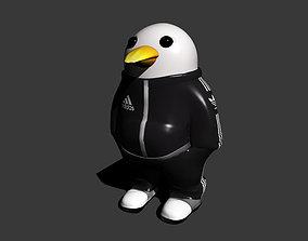 cool pingouin 3D print model