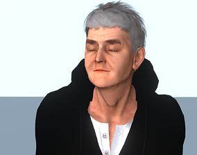 Rowan Atkinson 3D model