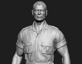 3D printable model Miles Quaritch from Avatar movie