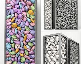 Gabion small pebble 3D