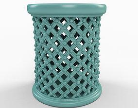 Mercury Row Garden Stool 3D model