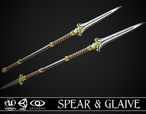 Spear and Glaive A3 3D asset