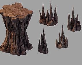 Stone Dragon Forbidden - Stone Combination 3D