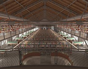 Library environment 3D