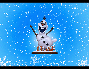 Olaf for 3dPrinting