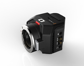 Blackmagic Micro Studio Camera 4K 3D model