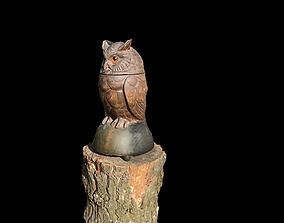 3D printable model Wooden OWL bird