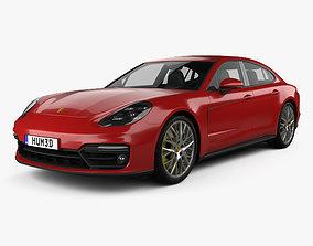 Porsche Panamera GTS 2019 3D model