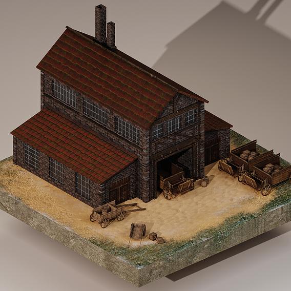 Medieval Cargo Building