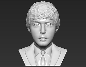 Paul McCartney bust 3D printing ready stl obj formats