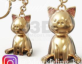 Pig piggy 3D print model