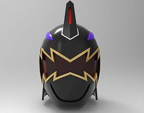 Black Ranger Helmet from Dino Thunder for 3D printing