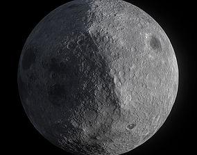 Low Poly Moon 3D model