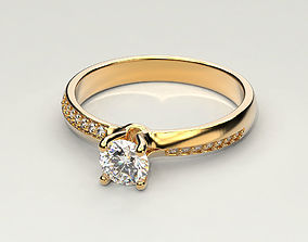 3D printable model Engagement ring 19