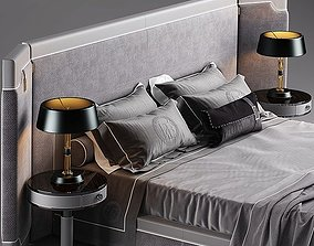 Bed modern style 3dsmax Bed Vray