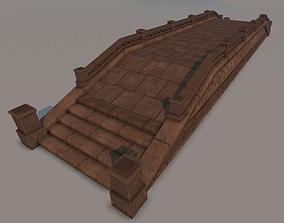 Ancient Bridge - Game Props 3D asset