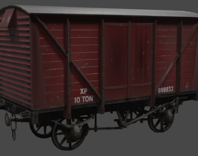 3D model Covered Car Wagon
