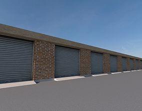 Garages 01 3D asset