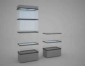 expo glass case 3D model