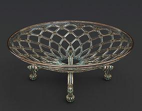 3D model Decorative fruit bowl