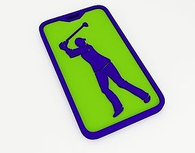3D printable model Golf Bag Tag
