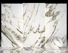 3D asset Old Stain Marble