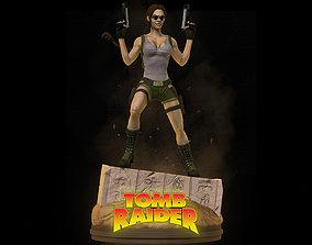 Lara Croft Fan Art 3D print model